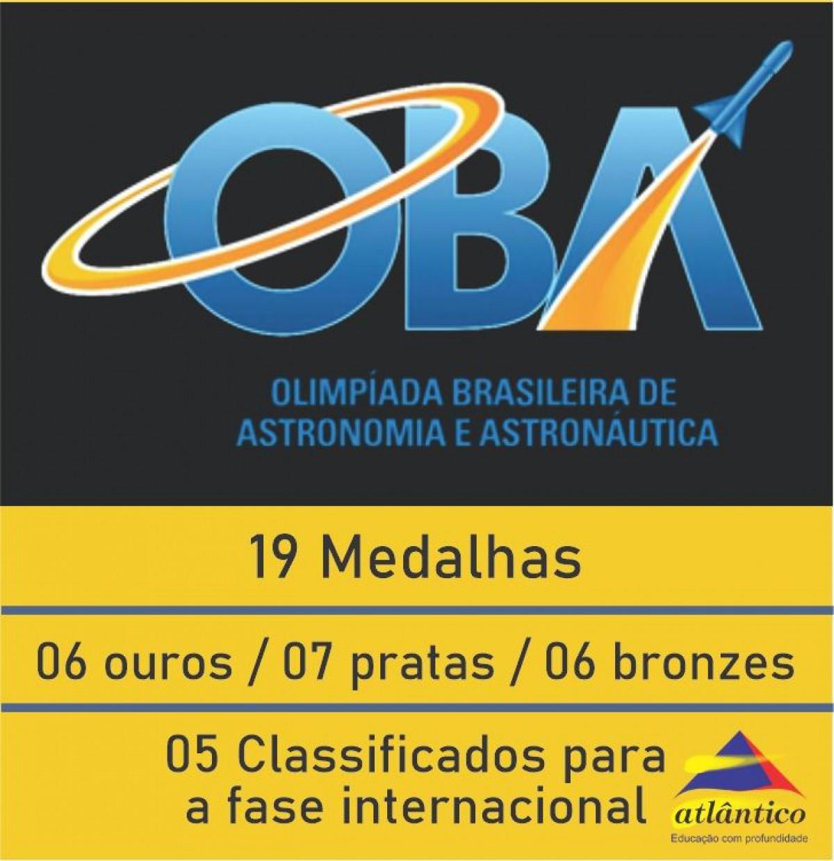 OBA - Medalhas